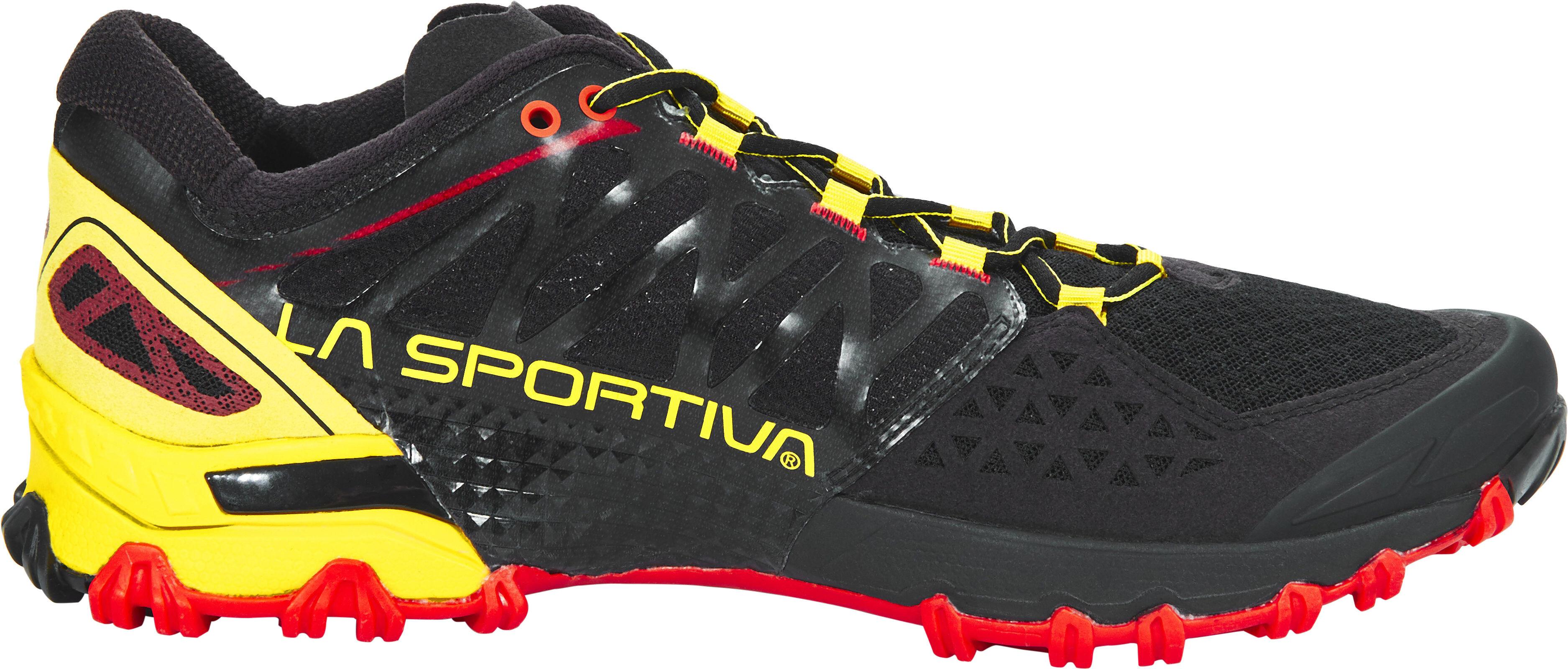 La Sportiva Bushido - Zapatillas running Hombre - amarillo negro ... af1fa6a0243